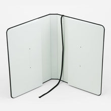 Load image into Gallery viewer, Inside of thread bound notebook cover - Paper Dream