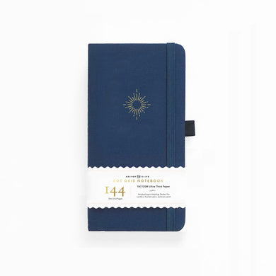 Archer and Olive Travelers North Star 144 Pages Dot Grid Notebook - Front Cover with sleeve - Paper Dream