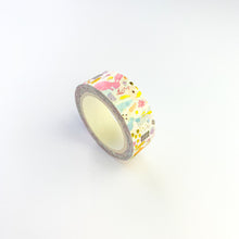 Load image into Gallery viewer, Rabbit foiled washi tape side