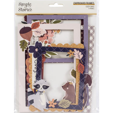 Simple Stories Cozy Days Chipboard Frames - Paper Dream