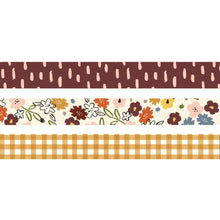 Load image into Gallery viewer, Simple Stories Cozy Days washi tape set of 3 flat