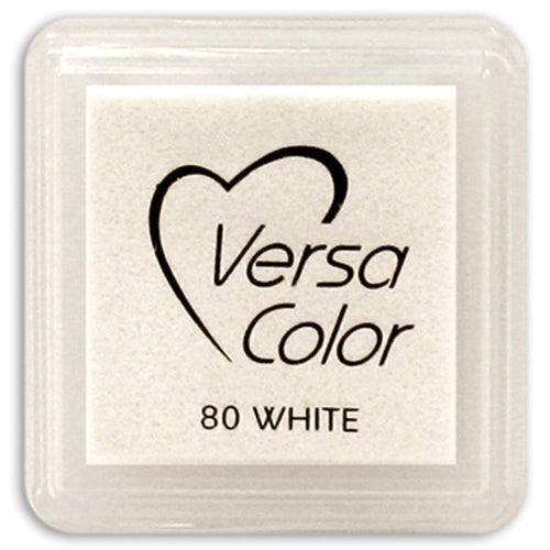 Versa Color white pigment ink pad - Paper Dream