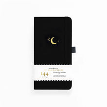 Charger l'image dans la galerie, Archer and Olive Travelers Crescent Moon 144 Pages Dot Grid Notebook - Front Cover with sleeve - Paper Dream