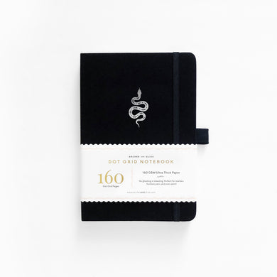 Archer and Olive Garden Slither dot grid notebook bullet journal 160 pages a5 - Paper Dream