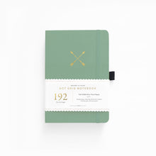 Charger l'image dans la galerie, Archer and Olive A5 Twin Arrows 192 Pages Dot Grid Notebook - Front Cover with Sleeve - Paper Dream