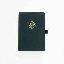 Charger l'image dans la galerie, Archer and Olive A5 Deep Green 192 Pages Dot Grid Notebook - Front Cover - Paper Dream