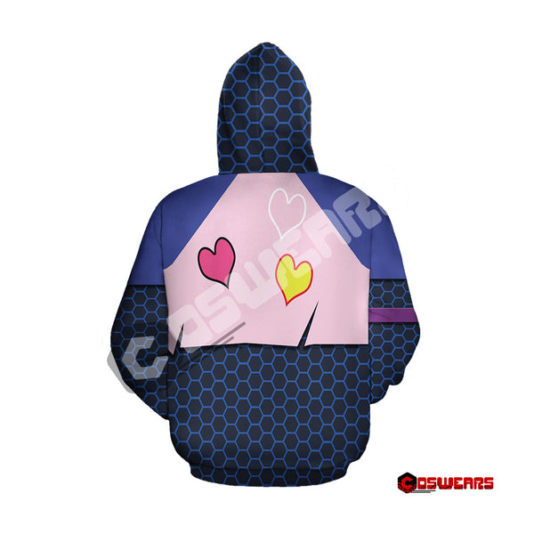Fortnite - Brite Bomber Outfit Zipped Hoodie