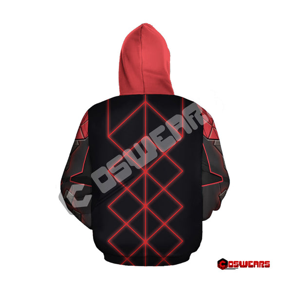 Destiny Hunter - Spliced Nanomania Zipped Hoodie