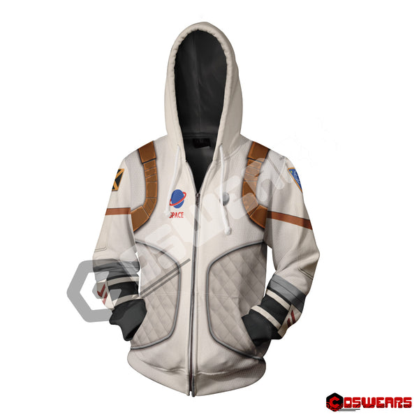 Fortnite - Moonwalker Zipped Hoodie