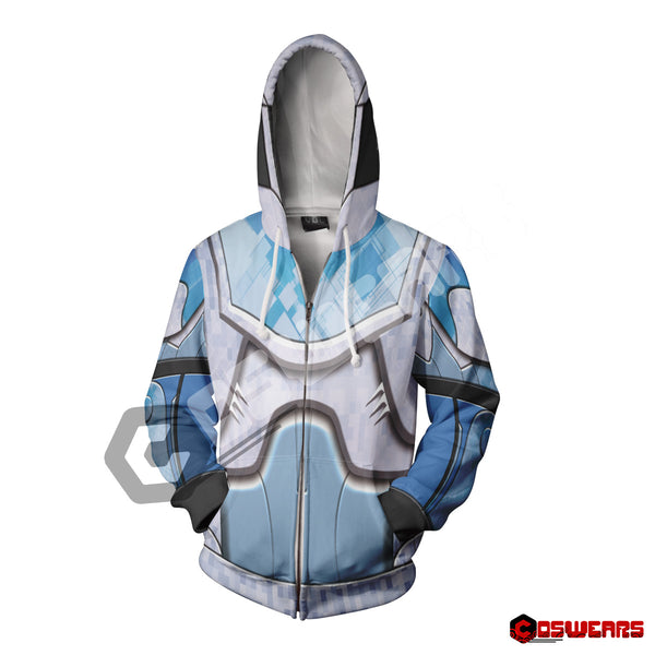 Destiny Titan - Kabr Ornament Zipped Hoodie