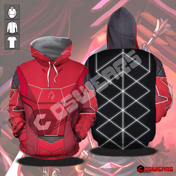 Destiny Rise of Iron - Hunter - Spliced Nanomania Pullover Hoodie