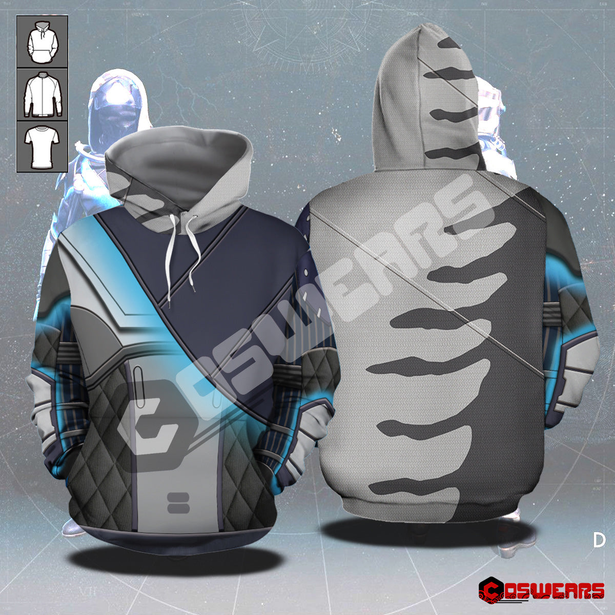 Destiny Hunter - Chroma Superior Pullover Hoodie