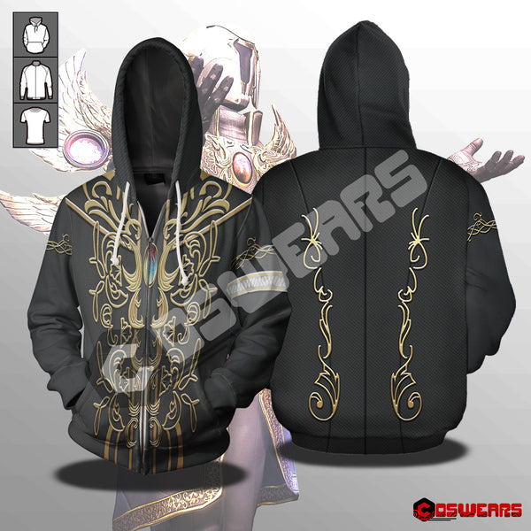 Destiny 2 Warlock Sacred Dawn Exotic Zipped Hoodie
