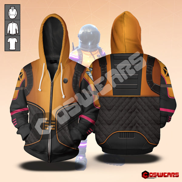 Fortnite - Dark Vanguard Zipped Hoodie