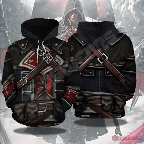 Assassin's Creed Cormac Inspired Pullover Hoodie