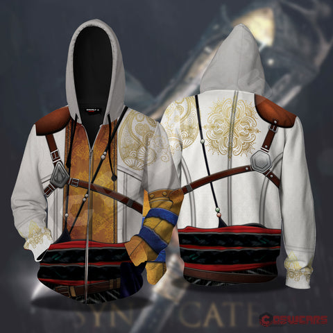 Assassin's Creed Syndicate Inspired Zipped Hoodie