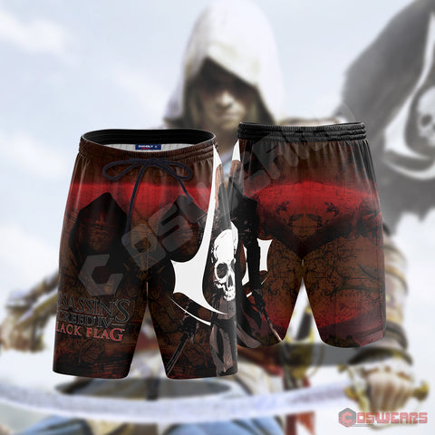 Assassin's Creed : Black Flag Beach Shorts