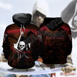 Assassin's Creed : Black Flag Pullover Hoodie