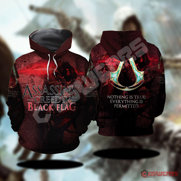 Assassin's Creed : Nothing Is True Pullover Hoodie