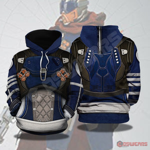Destiny: Ace of Spades Hunter Inspired Pullover Hoodie