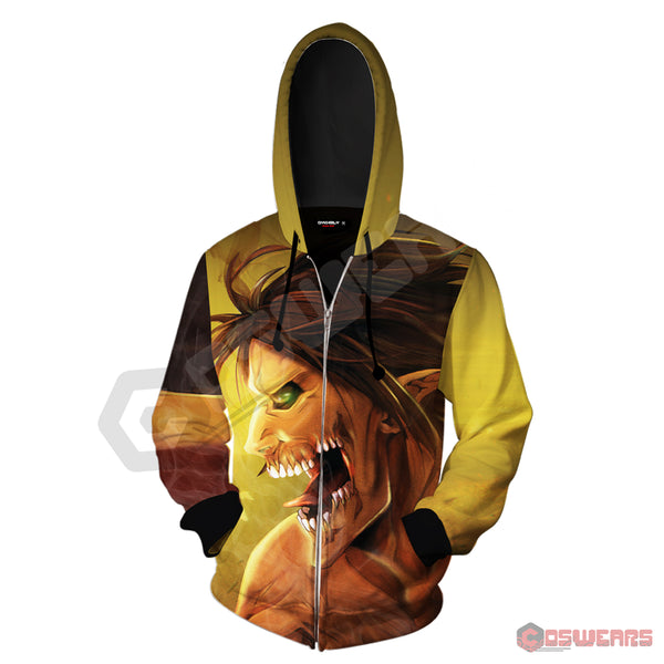 Attack on Titan - Battle of Titans Zipped Hoodie