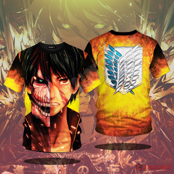 Attack on Titan - Eren's Titan Form T-Shirt