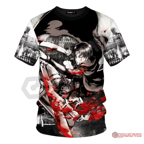Attack on Titan - Captain Levi Inspired T-Shirt