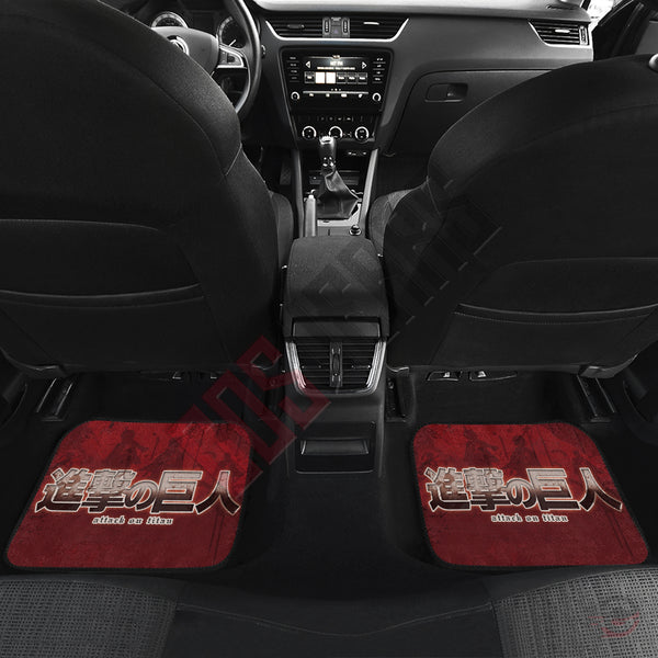 Attack on Titan : Eren Car Floor Mat