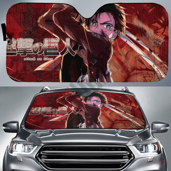 Attack on Titan : Eren Car Sun Shade