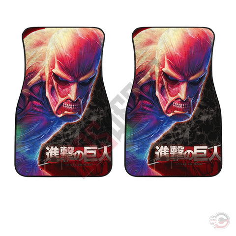 Attack on Titan : Colossus Car Floor Mat