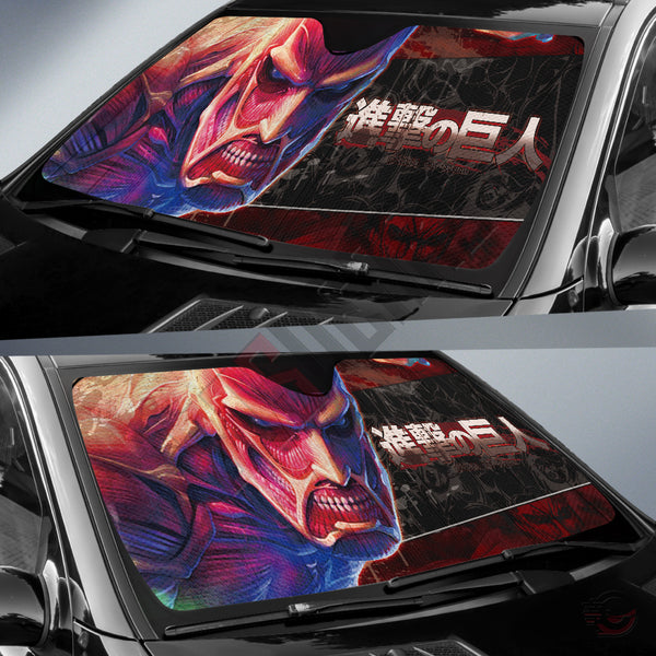Attack on Titan : Colossus Car Sun Shade
