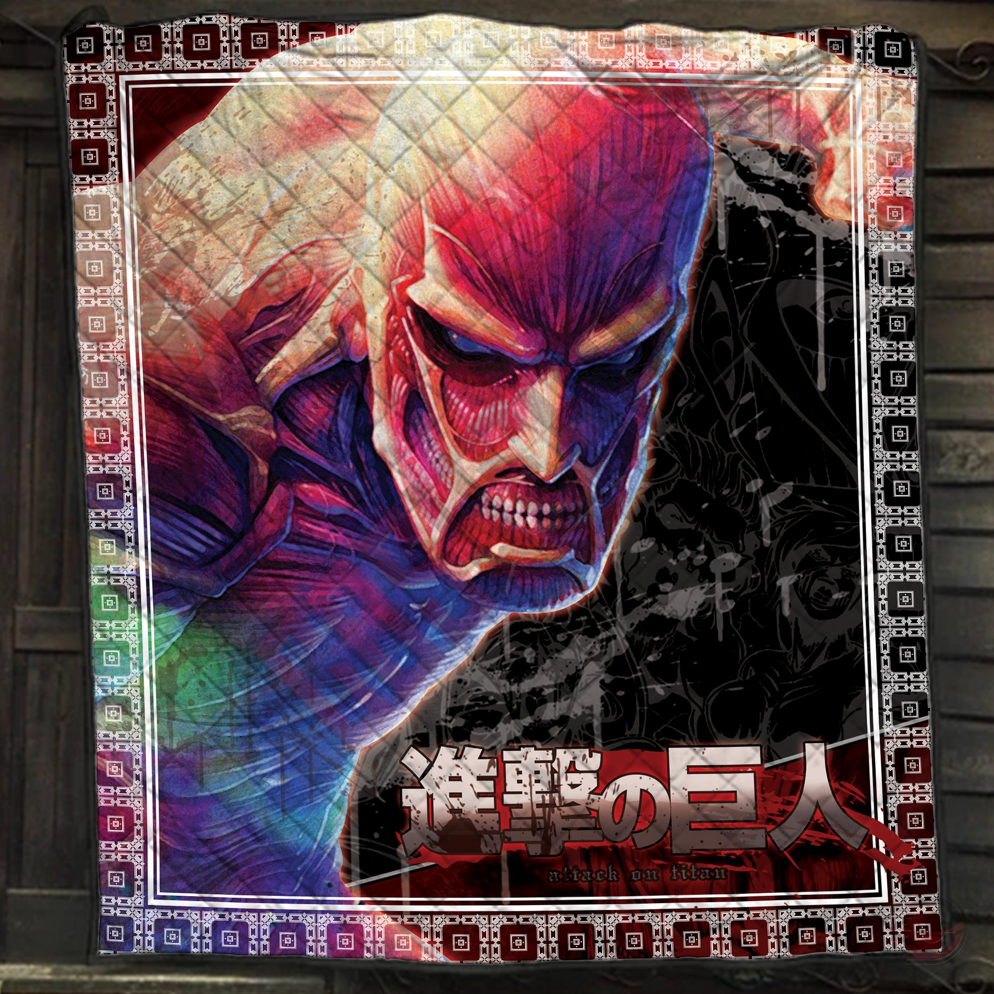 Attack on Titan : Colossus Quilt