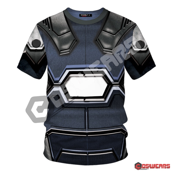 Avengers: End Game War Machine Inspired T-Shirt