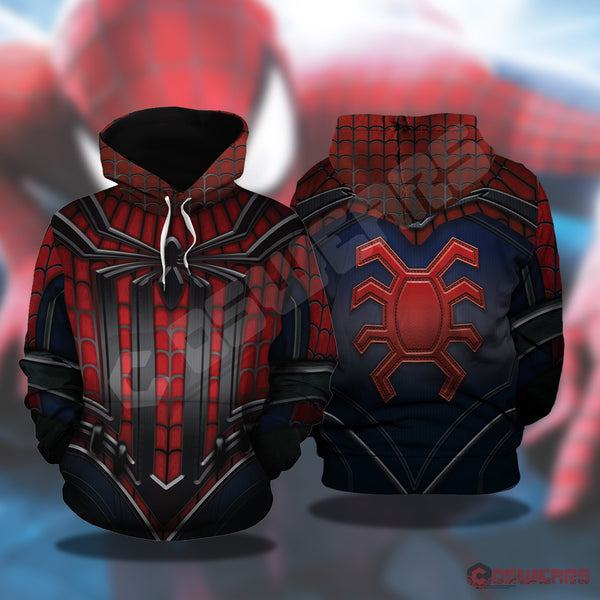 Avengers: End Game Spiderman Inspired Pullover Hoodies