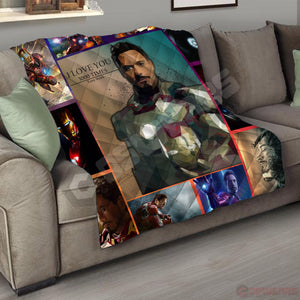 Avengers: End Game Tony Stark Quilt