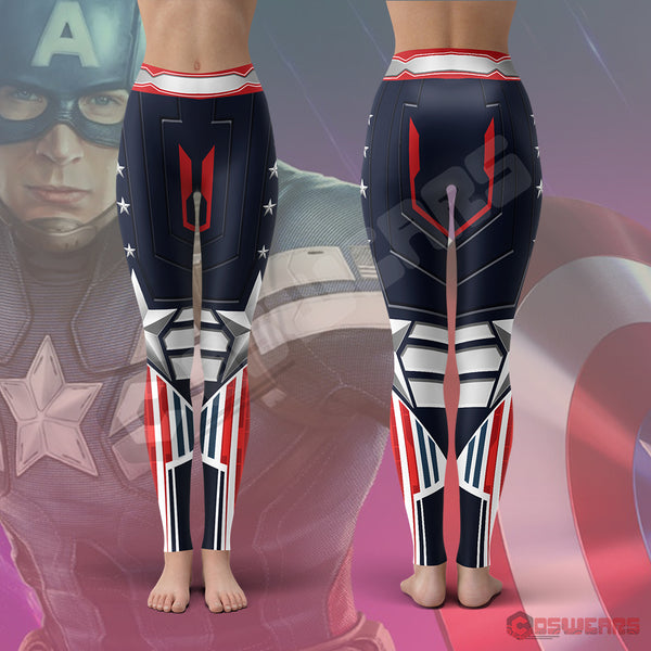 Avengers : Captain America Leggings