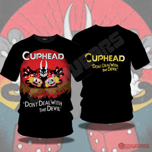 Cuphead Inspired T-Shirt