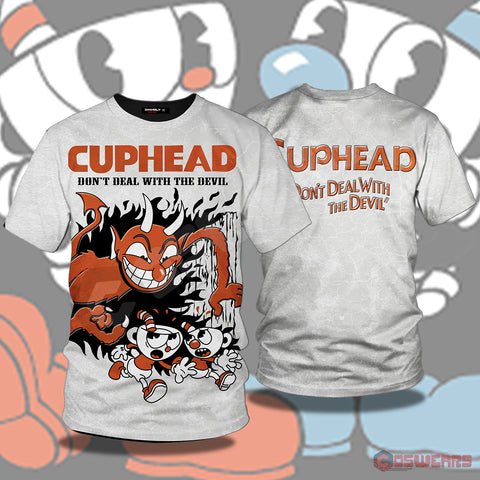 Cuphead And Mugman Inspired T-Shirt