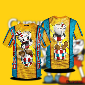 Cupheads Chips Inspired T-Shirt