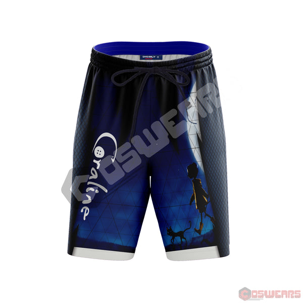 Coraline : Coraline Moon Beach Shorts