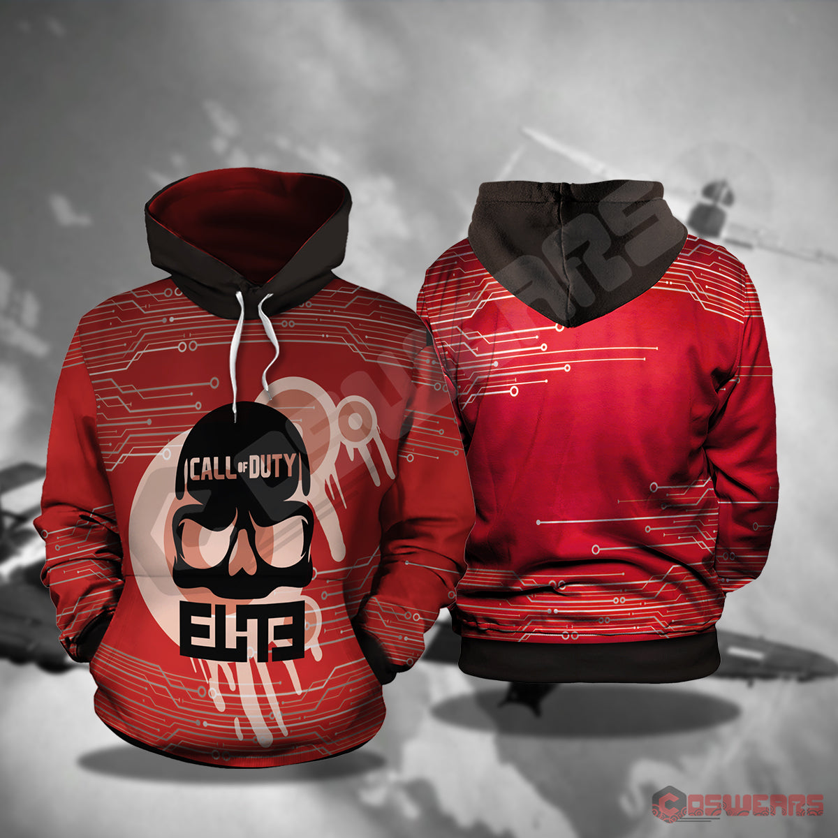 Call Of Duty : Elite Pullover Hoodie