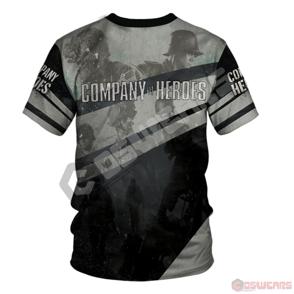 Company Of Heroes Logo T-Shirt