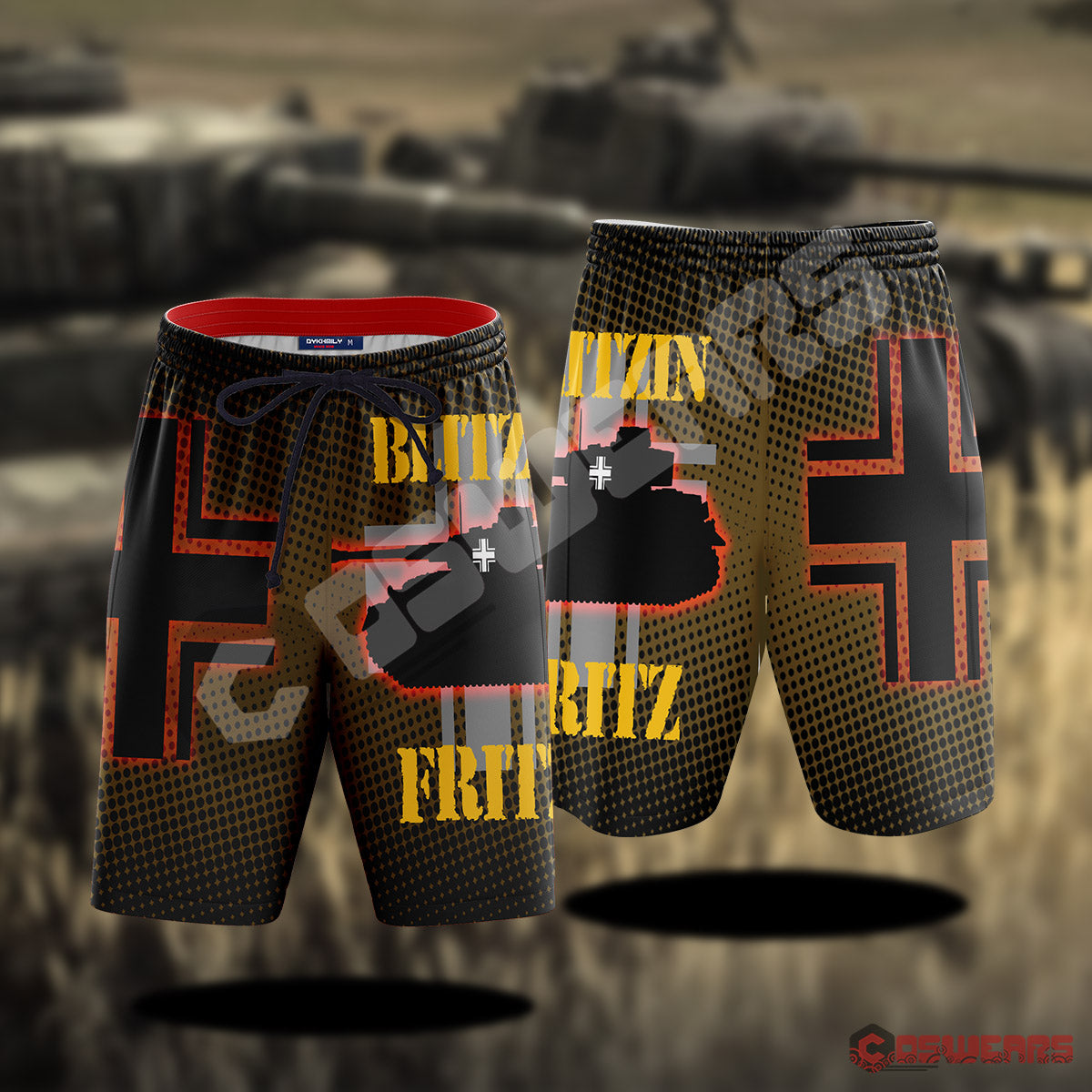Company Of Heroes : Blitzin Fritz Beach Short
