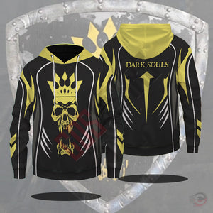 Dark Souls For Honor Skull Emblem Pullover Hoodie