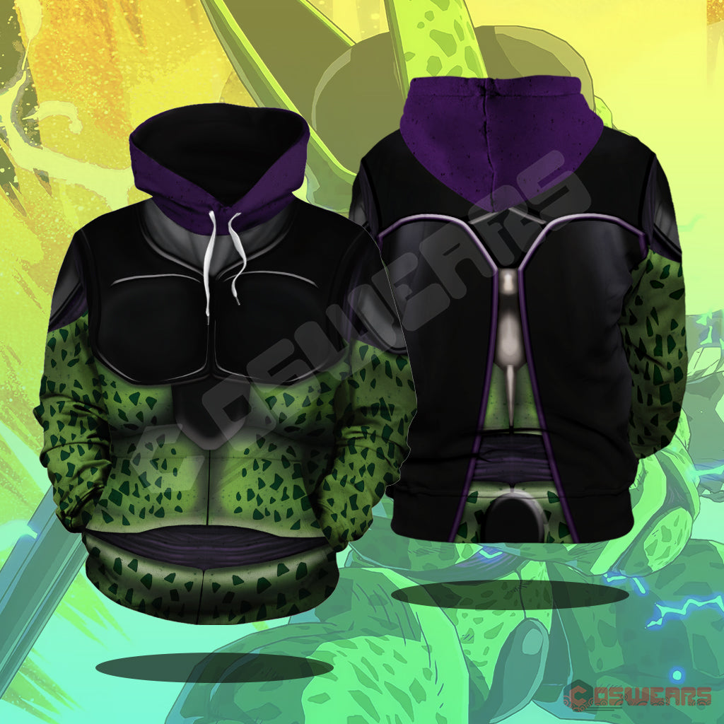 Dragon Ball Z - Cell Pullover Hoodie
