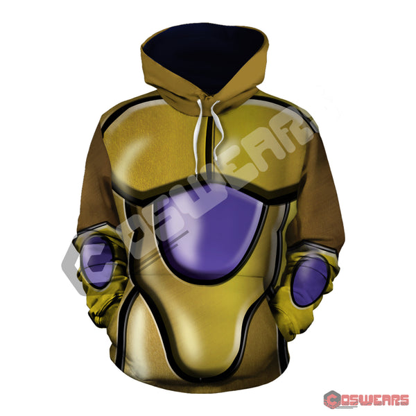 Dragon Ball Z - Freeza Gold Pullover Hoodie