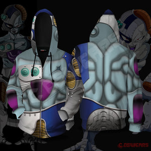 Dragon Ball Z - Mecha Freeza Zipped Hoodie
