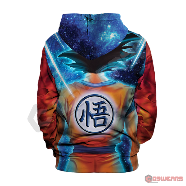 Dragon Ball Z - SS Goku Pullover Hoodie