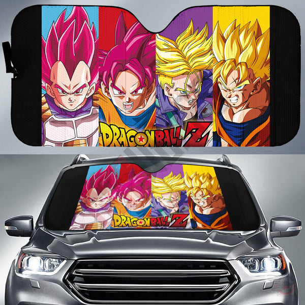 Dragon Ball Z Car Sun Shade