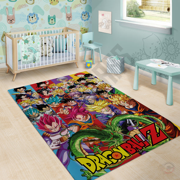 Dragon Ball Z Rug